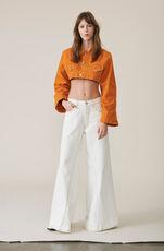 Denim Runway Narrow Jacket, Turmeric Orange, hi-res