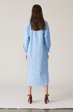 Sage Shirt Dress, Serenity Blue, hi-res