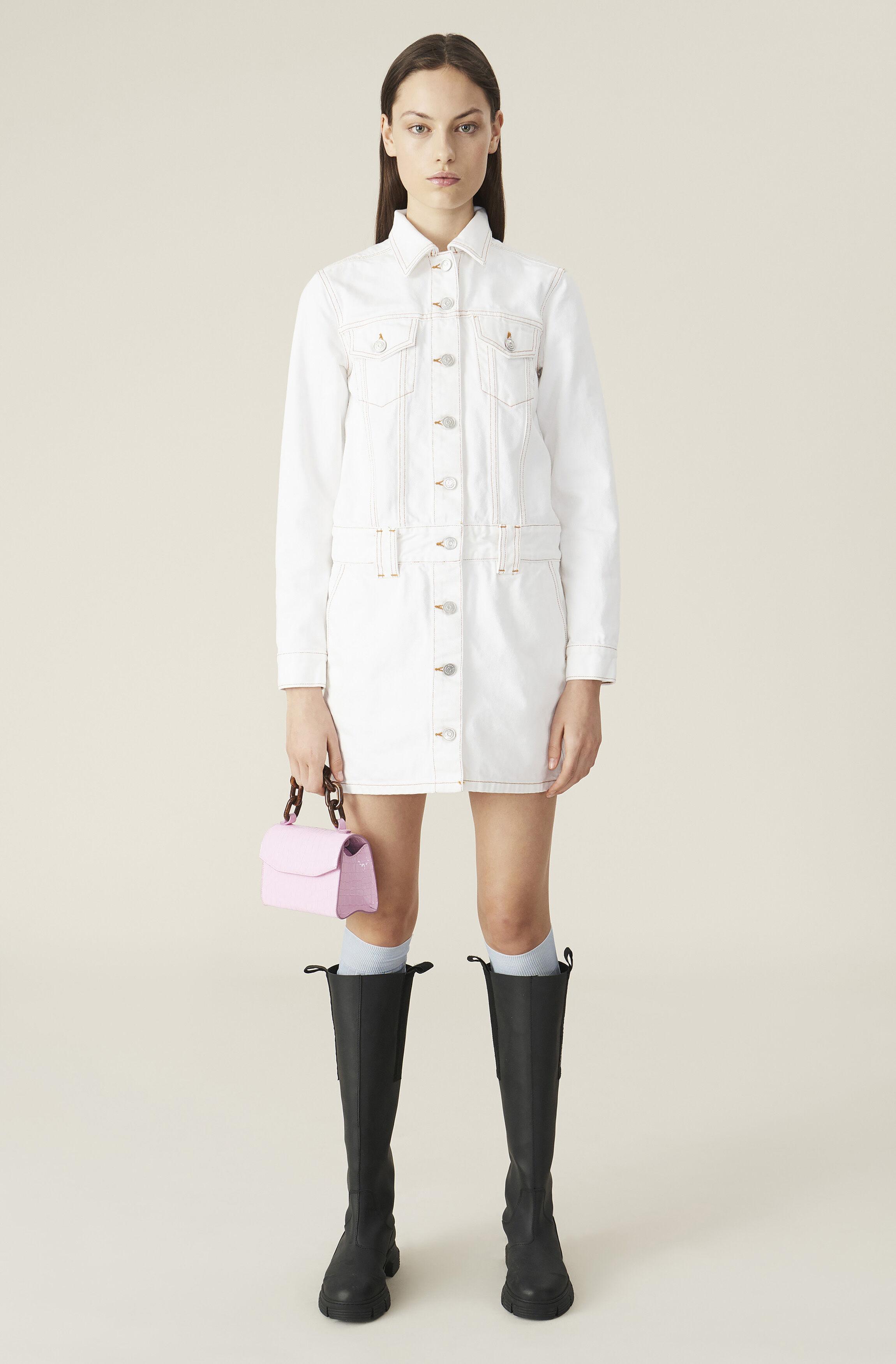 White Denim Mini Dress ( 2399.00 DKK