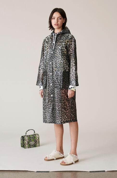 Cherry Blossom Jacket, Leopard, hi-res