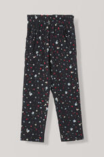 Nolana Silk Pants, Black, hi-res