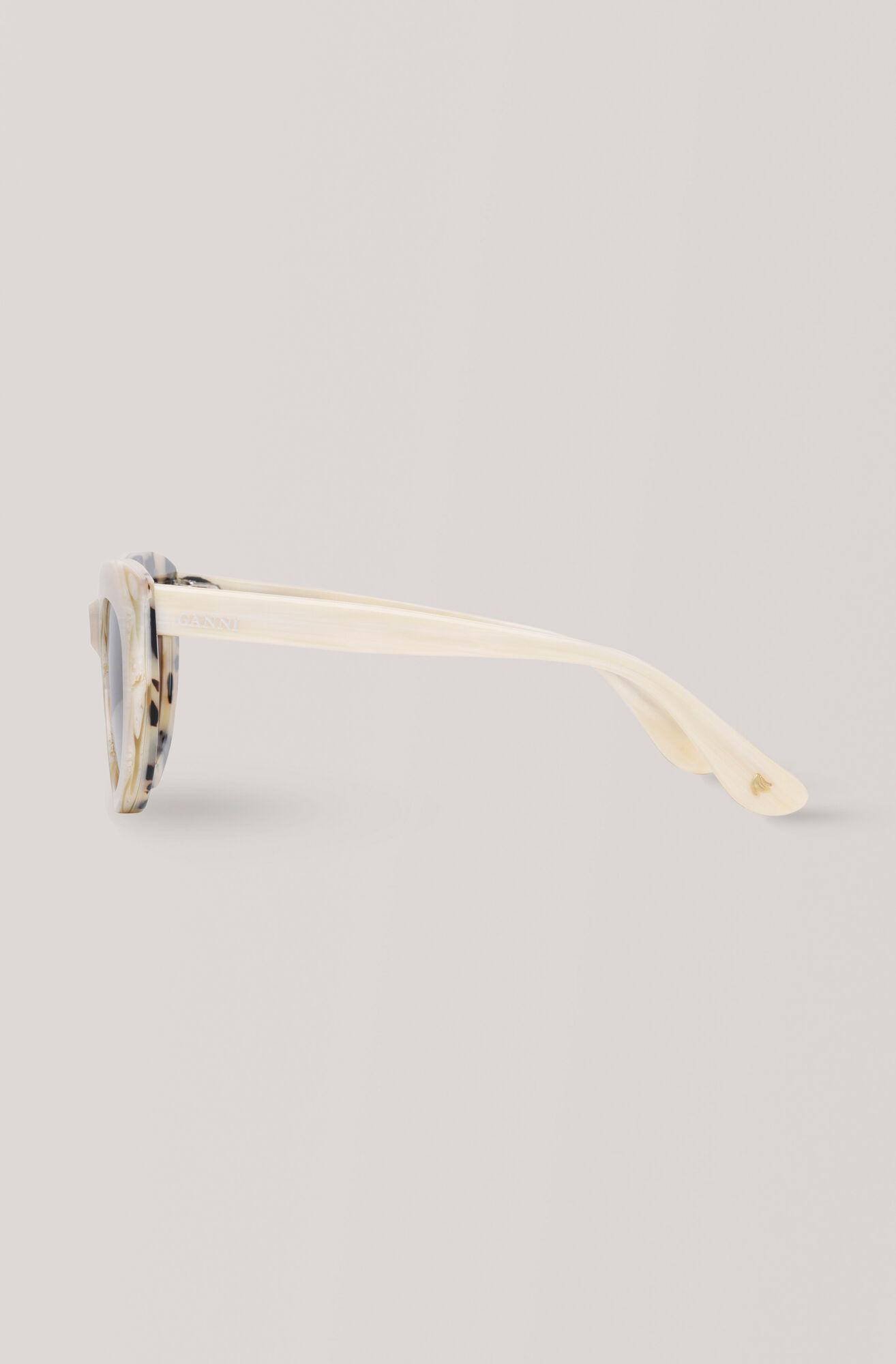 Triangle Sunglasses Sonnenbrille, White, hi-res