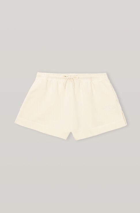 Ganni SOFTWARE ISOLI DRAWSTRING SHORTS