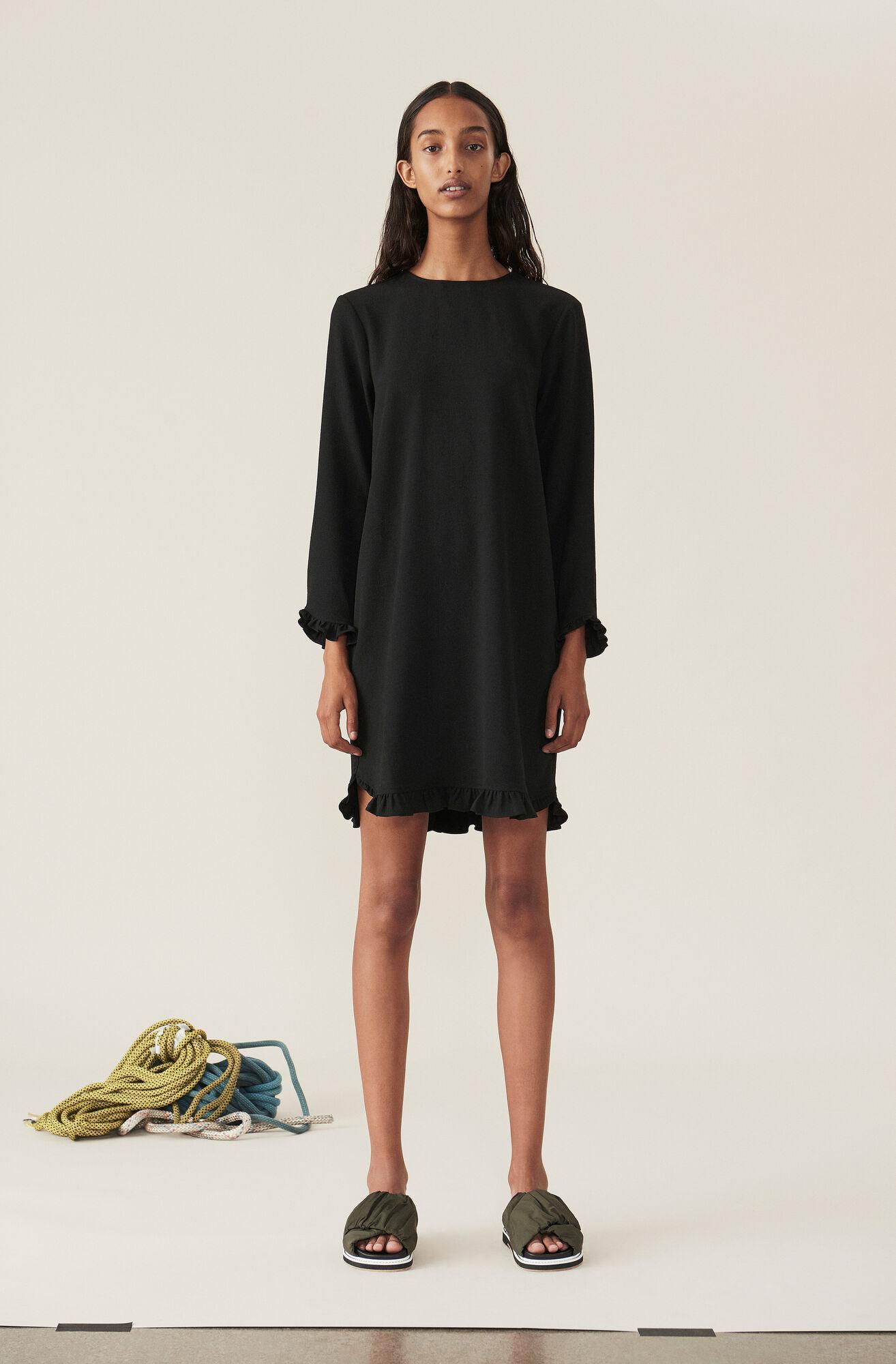 authentic quality wholesale price pretty nice Heavy Crepe Mini Dress