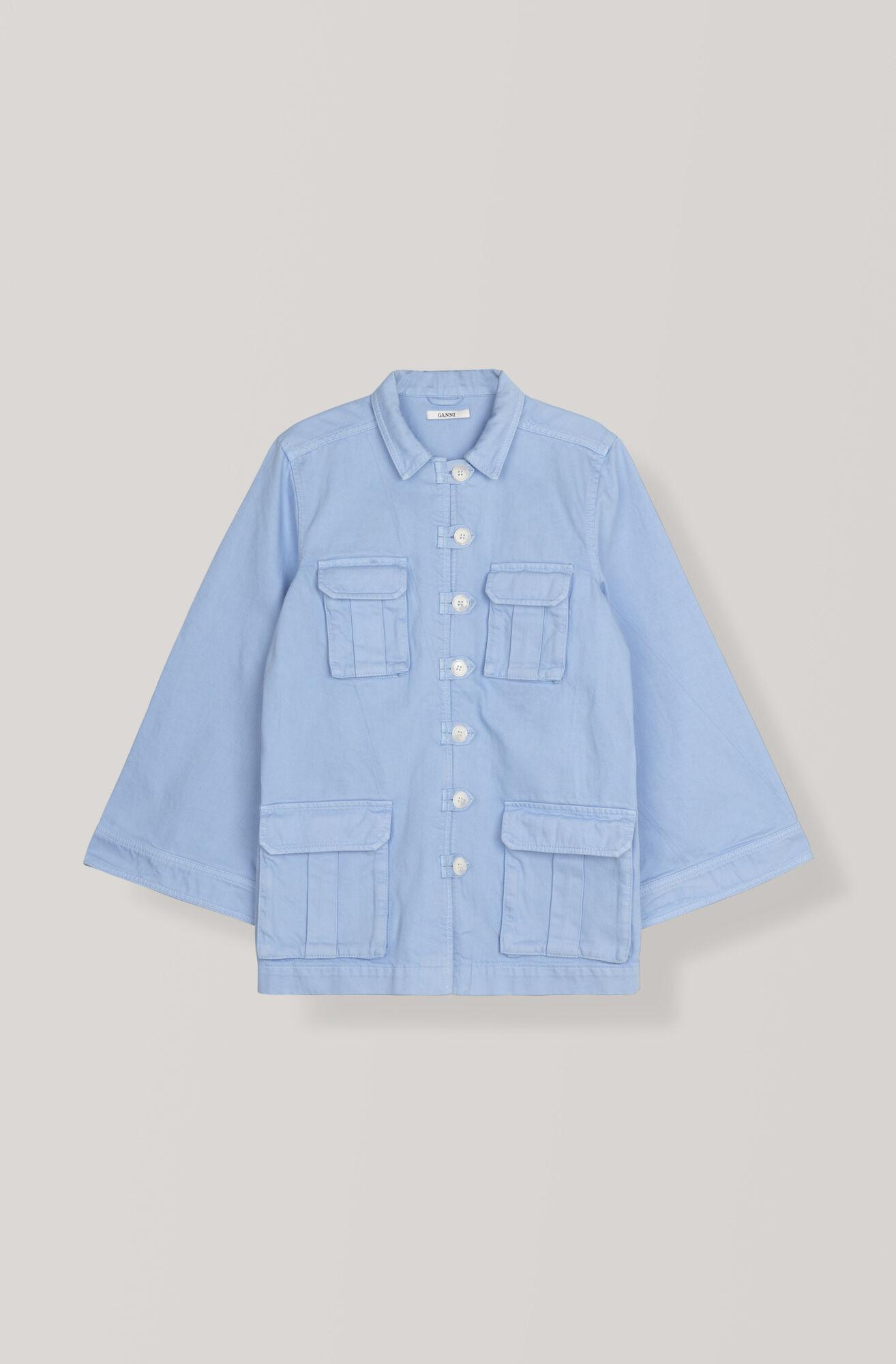 Bluebell Jacket, Serenity Blue, hi-res