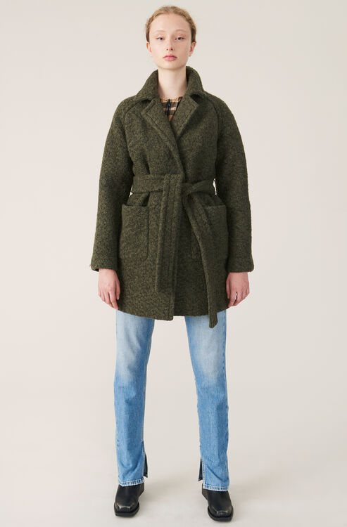 attractive price latest discount many fashionable GANNI Coats   Shop Coats at GANNI.COM