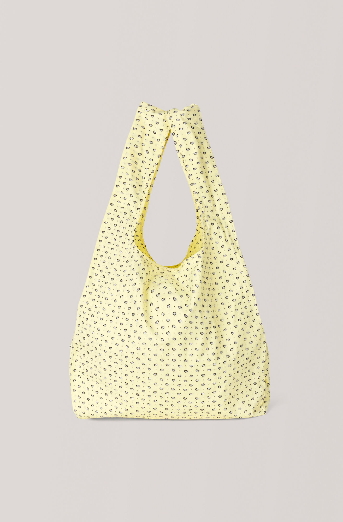 Printed Cotton Tote Bag, Anise Flower, hi-res