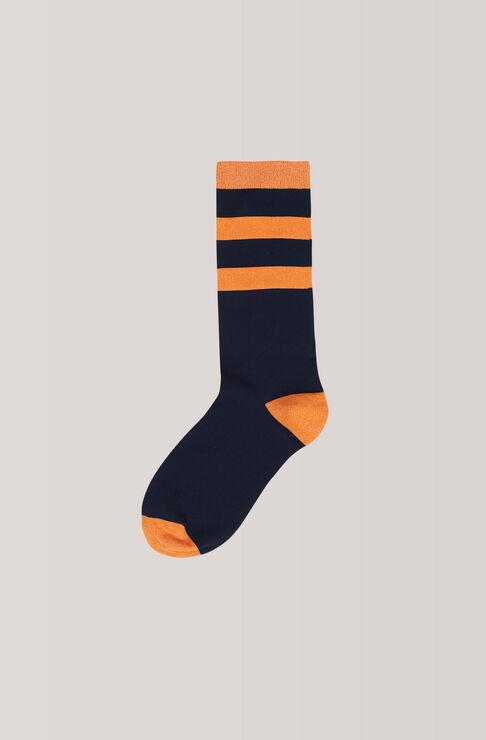 Classon Stripe Ankle Socks, Total Eclipse, hi-res
