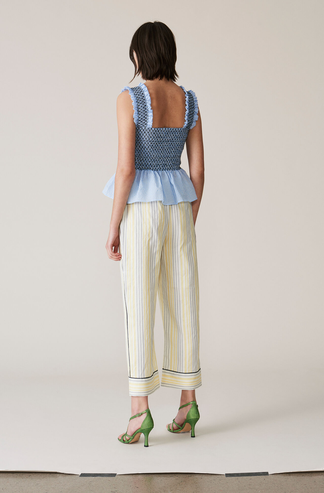 Bergamot Silk Pants, Vanilla Ice, hi-res