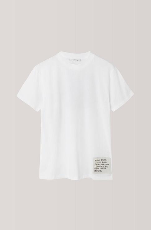 Harway T-shirt, Global Citizen, Bright White, hi-res