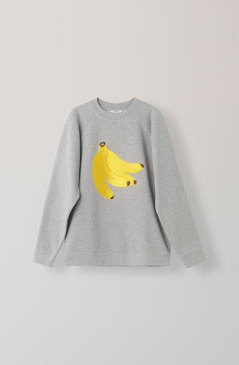 Lott Isoli Sweatshirt, Banana, Paloma Melange, hi-res