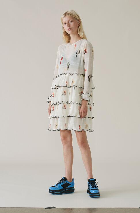 Lowell Mini Dress, Vanilla Ice, hi-res