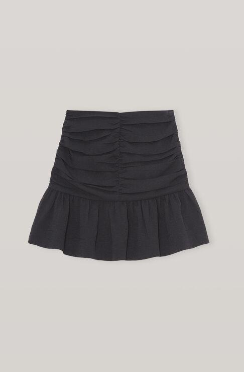 Ganni Mini skirts HEAVY CREPE MINI SKIRT