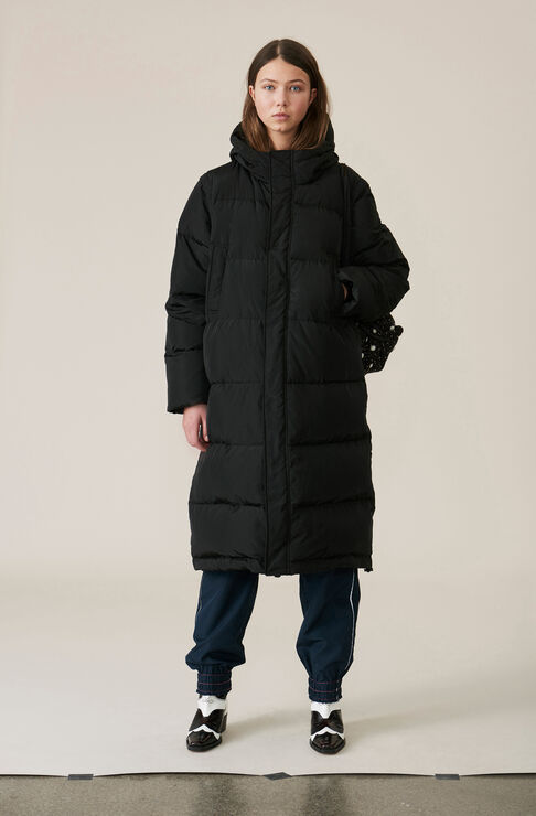 Whitman Long Jacket, Black, hi-res