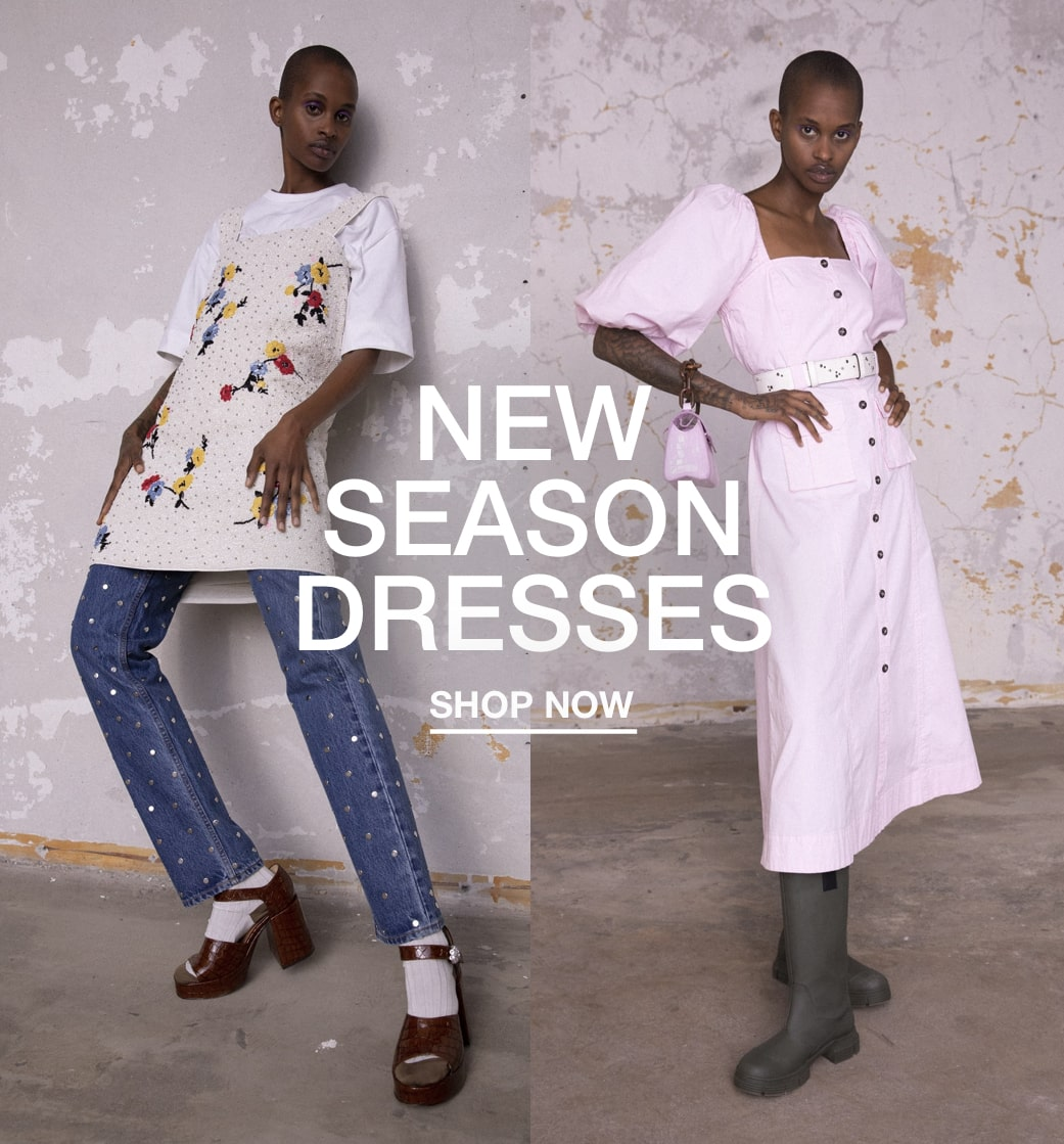 NEW SEASON DRESSES Shop now